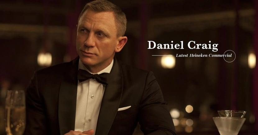 【男人最痛】Daniel Craig最新廣告!  揭示飾演James Bond苦處!