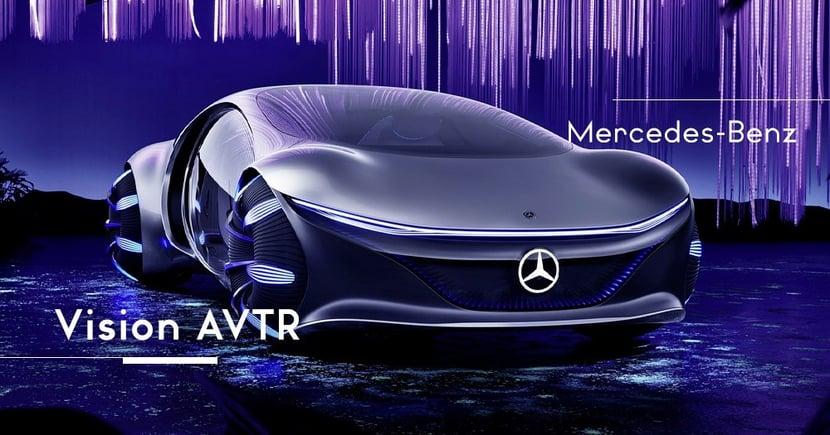 【遙遠未來】《Avatar》中誕生的奇幻汽車!Mercedes-Benz推出Vision AVTR概念電動車!