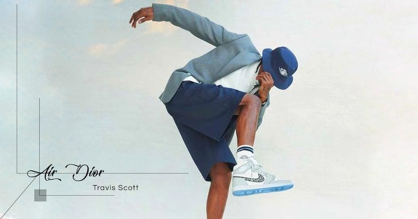 【全城搶購】Travis Scott親自示範!Dior X Jordan Brand 「Air Dior」聯乘全系列曝光!