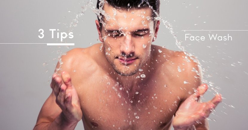 【男仕護理】如何散發出碧咸般的型格魅力?三個你必須知道的面部護理小撇步!
