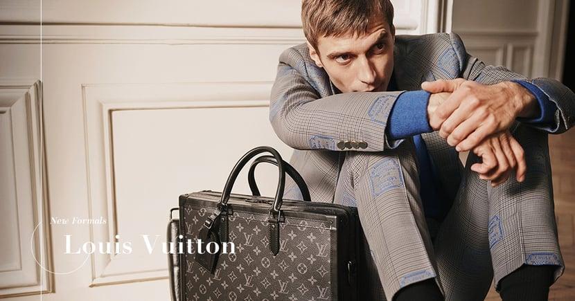【商務菁英】西裝革履的Louis Vuitton!為何精湛剪裁的西裝總能象徵成功?