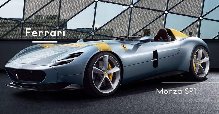 【單座超跑】讓專業的來!前F1冠軍車手實測「上空」Ferrari Monza SP1!