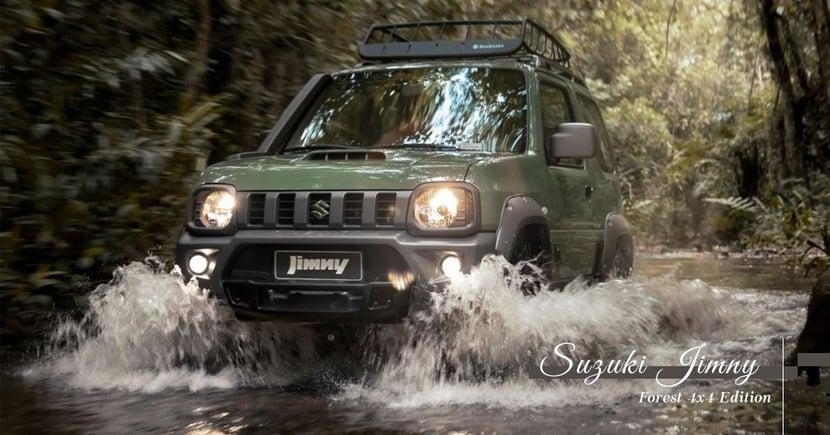 【越野旗艦】重回第三代懷抱!Suzuki推出Jimny「Forest」特別版!