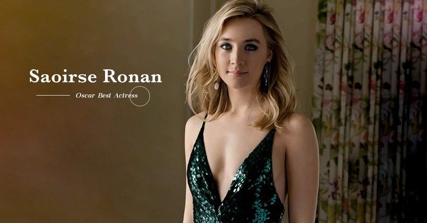 【空靈少女】Saoirse Ronan三度提名奧斯卡影后!荷里活一致認定的明日之星!
