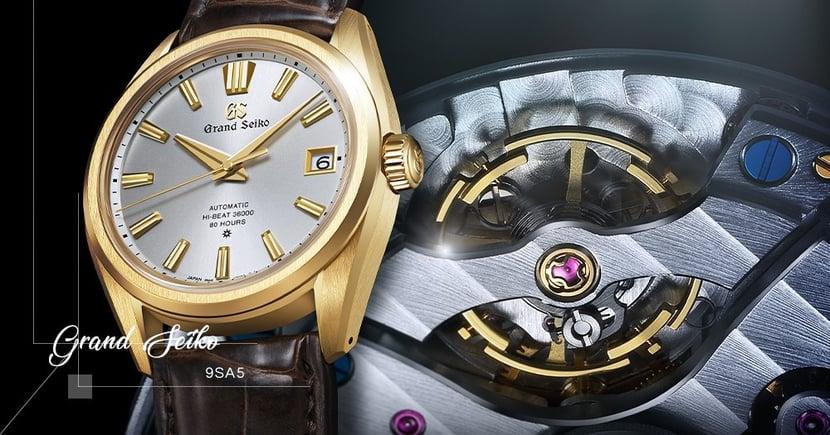 【全新篇章】Grand Seiko推出自家研發全新機芯!六十週年腕錶全球限量發售!