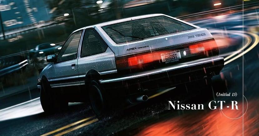 【經典日跑】我要買GTR!重溫《頭文字D》戲中經典車款!