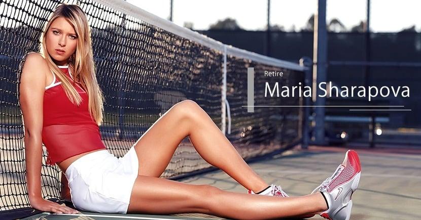 【正式退役】近代最美網球選手!舒拉寶娃展開人生新一章!