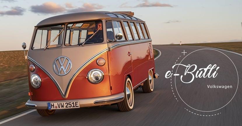【老車續命】Volkswagen經典車款大翻新!電動化打造全新e-Bulli!