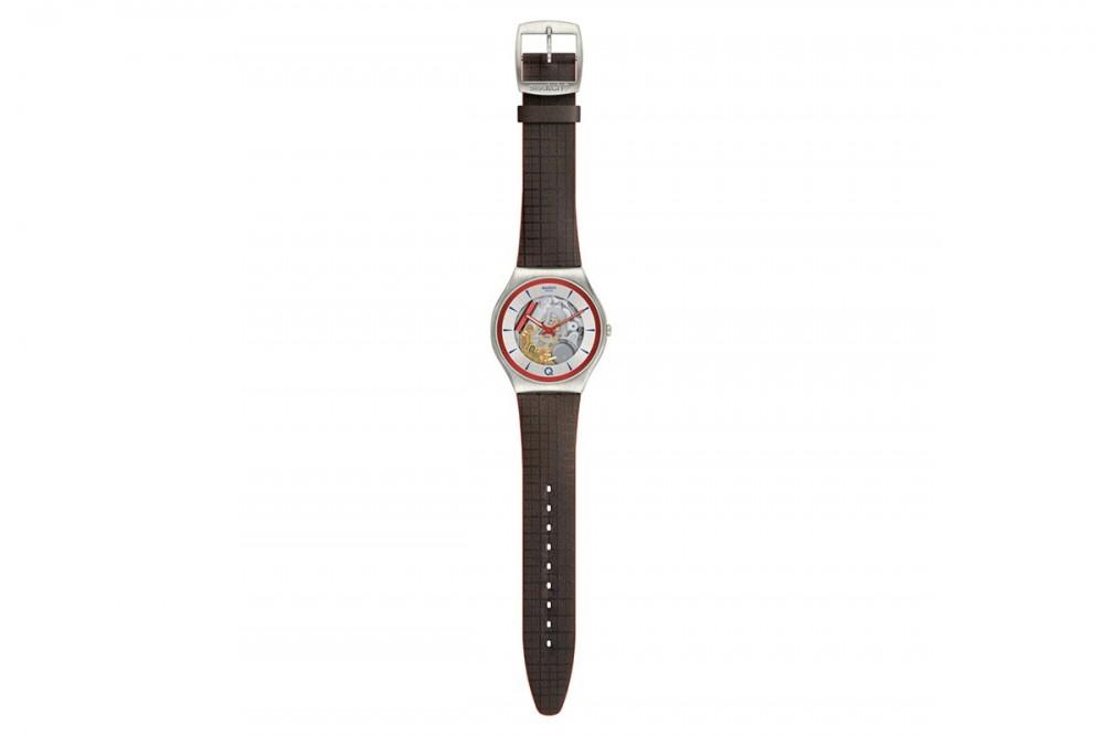 這一款Swatch Q限量版腕錶將於明日(3月5日)起登陸品牌的網上商店和專門店
