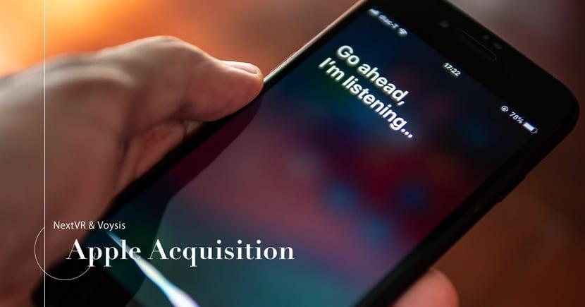 【戰略收購】Apple巨額收購計劃曝光!不惜工本加強Siri和AR技術發展!