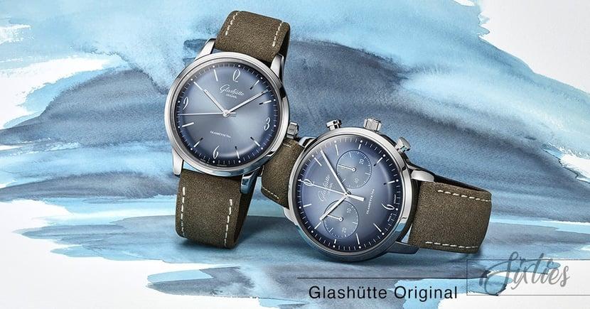 【冰川藍調】德國鐘錶的極致!Glashütte Original Sixties系列最新年度錶款!