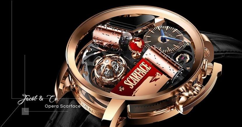 【收藏級數】向黑幫電影《Scarface》致敬!Jacob & Co.再推Opera系列別注版腕錶!