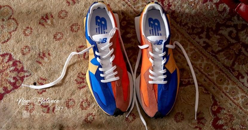 【鴛鴦撞色】復古與時尚的最佳結合!New Balance全新327鞋款本週上架!
