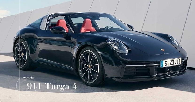 【最新成員】Porsche新年式911 Targa 4正式公佈!超過半世紀的驕傲!