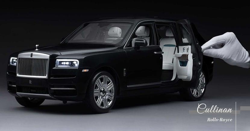 【高度還原】Rolls-Royce精緻打造縮小版Cullinan!價格更令人吃驚!