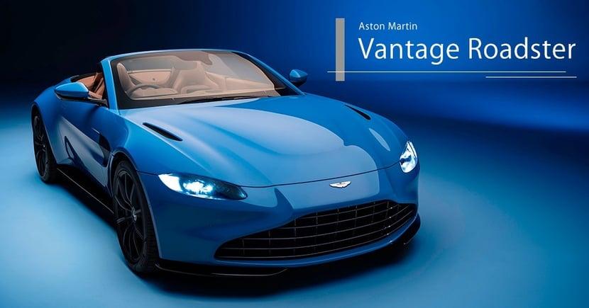 【英倫美態】Aston Martin Vantage車系七十週年作品!Roadster野性與貴氣並重!