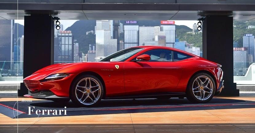 【剛柔並重】意式奢華生活態度!全新Ferrari Roma正式扺港!
