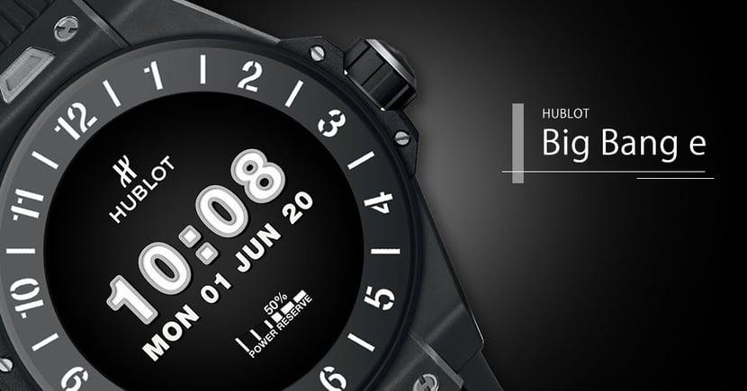 【市場轉變】HUBLOT推出全新智能手錶Big Bang e!索價四萬真的具市場競爭力?
