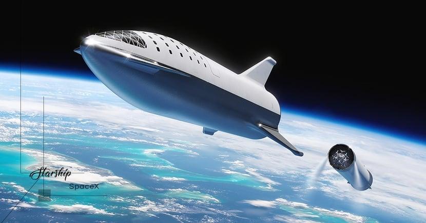 【全民升空】SpaceX宣佈率先開發商業太空船!Starship計劃每次可送一百人上太空!