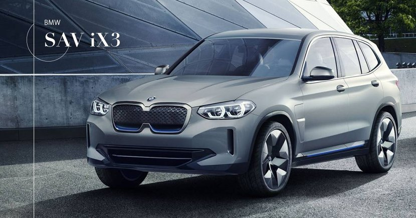 【純電稱霸】新世代電動休旅車!BMW SAV iX3年底交付!