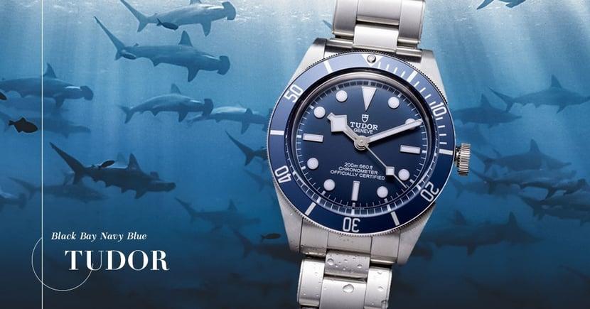 【旗艦錶款】Tudor再推藍圈藍面Black Bay!延續品牌經典美學!